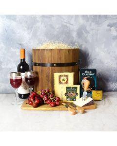 Wine & Cheese Barrel