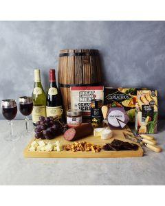 Grand Cheese & Wine Gift Basket, wine gift baskets, gourmet gift baskets, gift baskets, gourmet gifts