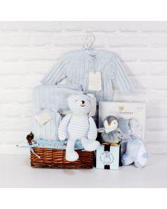 A LITTLE LOVE BABY BOY GIFT SET, baby boy gift hamper, newborns, new parents