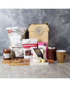 CHOCOLATE LOVER'S GIFT BASKET