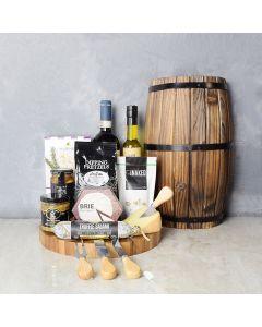 Classic Wine & Dine Gift Basket, wine gift baskets, gourmet gift baskets, gift baskets, gourmet gifts