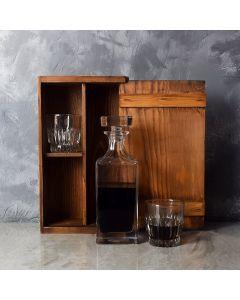 Rustic Decanter Gift Set