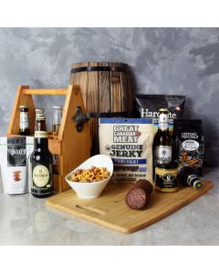 Beer Lover's Gourmet Gift Basket, beer gift baskets, gourmet gift baskets, gift baskets, gourmet gifts