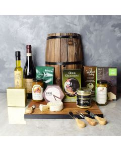 Delicious Gathering Wine & Cheese Gift Set, wine gift baskets, gourmet gifts, gifts
