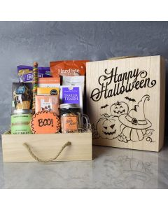 Trick Or Treat Snacking Crate