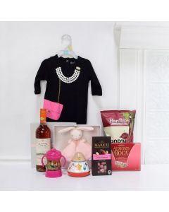 Deluxe Mommy & Daughter Gift Set, baby gift baskets, baby boy, baby gift, new parent, baby, champagne