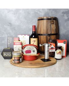 Baking Brie Gift Set, wine gift baskets, gourmet gifts, gifts