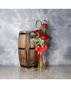Thorncrest Rose Bouquet, floral gift baskets, Valentine's Day gifts, gift baskets, romance