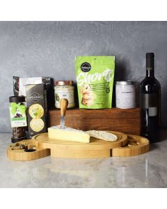 Kosher Wine & Cheese Party Crate
