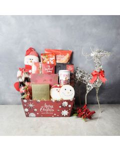 Gourmet Christmas Treats Set, gourmet gift baskets, Christmas gift baskets, gift baskets, gifts
