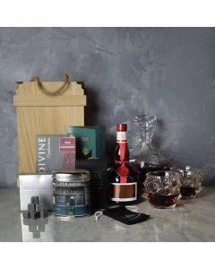 Elaborate Liquor & Decanter Crate