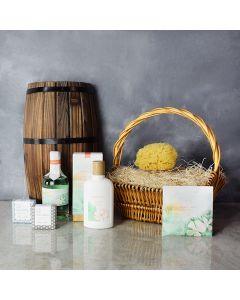 Slice of Nirvana Spa Gift Set, spa gift baskets, spa gifts, gift baskets, spa sets