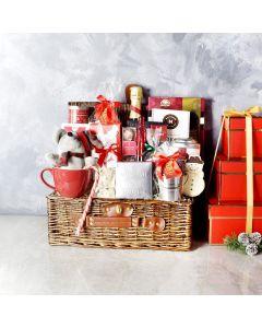 Chocolate and Champagne Holiday Celebration Basket