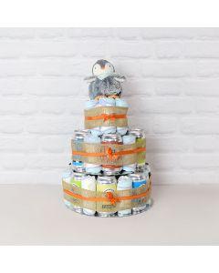 Craft Beer & Baby Diapers Gift Set, newborn baby basket, baby gift baskets, baby gift hamper, new parents, beer