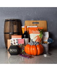 Happy Halloween Wine Basket