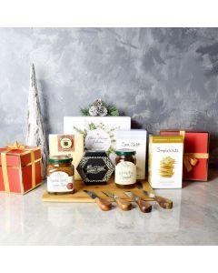 Holiday Cheese Pairing Gift Basket