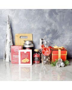 Holiday Warmth Coffee & Treats Basket