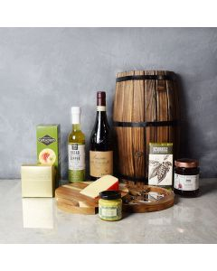 Cheese, Wine & Dipper Gift Set, wine gift baskets, gourmet gift baskets, gift baskets, gourmet gifts