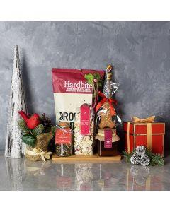 Christmas Tea & Snacks Gift Basket