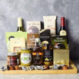 Corktown Wine Duo Gift Basket Rhode Island