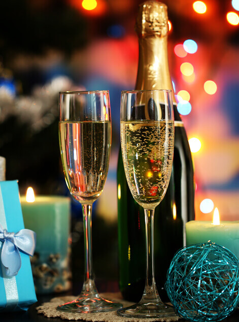 Champagne Gift Baskets Delivery Montreal
