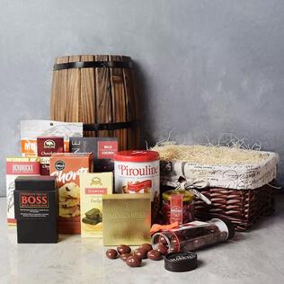 Absolute Chocolate Smorgasboard Gift Basket Rhode Island