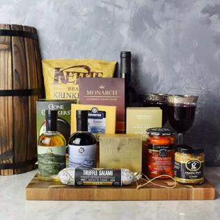 Etobicoke Wine & Cheese Gift Basket Rhode Island