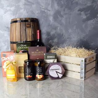 Oakridge Wine & Snack Gift Crate Rhode Island
