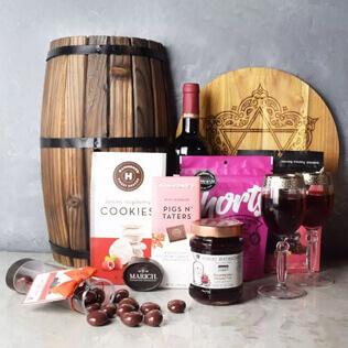Kosher Raspberry Sweets & Treats Set Rhode Island