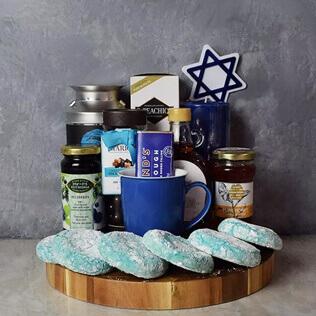 Kosher Treats & Coffee Hanukkah Basket Rhode Island