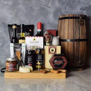Rustic Italian Gourmet Gift Basket Rhode Island