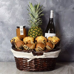 Tropical Muffin Gift Basket Rhode Island