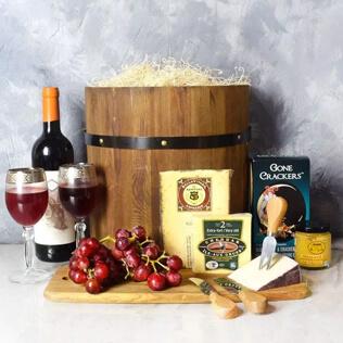 Wine & Cheese Barrel Rhode Island