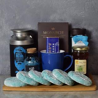 Kosher Coffee & Cookies Gift Basket Rhode Island
