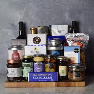 Kosher Grand Feast Wine Gift Basket Rhode Island