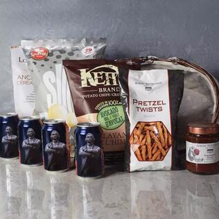 Kosher Beer & Snacks Basket Rhode Island