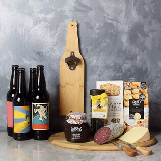 Beer & Cheese Lover's Basket Rhode Island