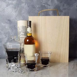 Liquor & Decanter Crate Rhode Island