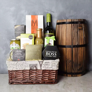 Perfect Pasta Gift Set With Wine Rhode Island