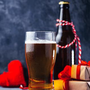 Beer gift baskets Shore Acres