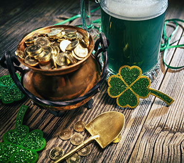 St. Patrick's Day Gift Baskets Delivered to Rhode Island